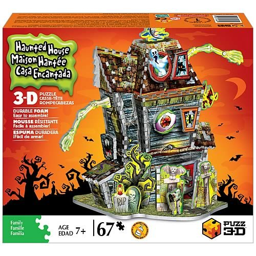 Picture of Hasbro 3D HAUNTED HOUSE JIGSAW PUZZLE (B001B1FJ08) (3D Puzzles)