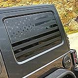 JKU Hard top Window Flags to fit Jeep Wrangler 2007-2017 (JKU)