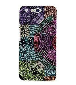 EPICCASE mayan Mobile Back Case Cover For InFocus M812 (Designer Case)