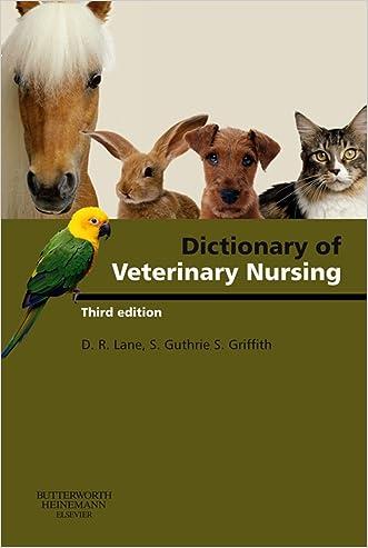 Dictionary of Veterinary Nursing