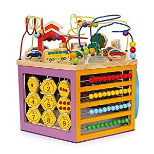 Legler Motor Activity Cube Giuliano Preschool Learning Toys