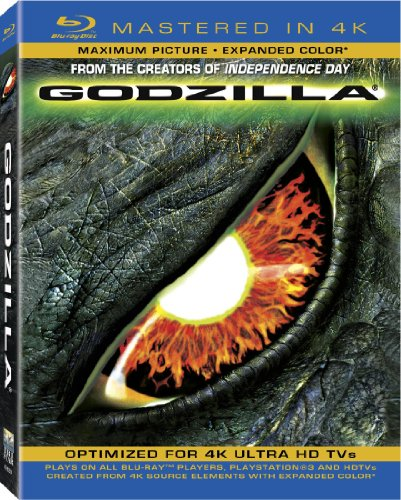 Godzilla (Mastered In 4K) (Single-Disc Blu-Ray + Ultra Violet Digital Copy)