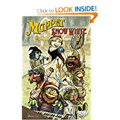 Muppet Snow White (Muppet Graphic Novels (Quality)) by Jesse Blaze Snider and Shelli Paroline