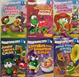 img - for I Can Read Veggie Tales - 6 Book Set, Level 1 (Princess Petunia's Sweet Apple Pie / Junior Comes Clean / Bob and Larry in the Case of the Missing Patience / Junior Battles to Be His Best / Princess Petunia and the Good Knight / LarryBoy Meets the Bubblegum Bandit) book / textbook / text book