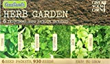 930 Herb Seeds 6 in 1: Basil/Rocket/Coriander/Parsley/Mint/Thyme/MULTI-BUY DISCOUNT/Will enhance any dish all year around