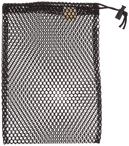 Equinox Nylon Mesh Stuff Sack (7 x 10-Inch, Black)
