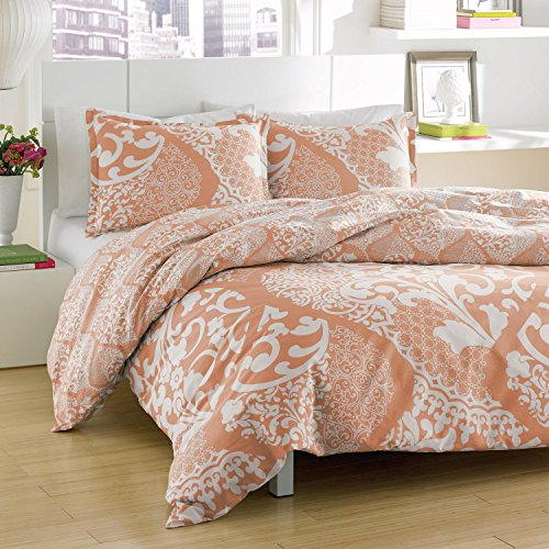 Coral Bedding Queen 6403 front