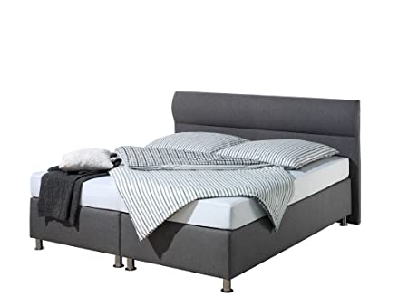 Maintal Betten 242927-3187 Boxspringbett Filipo 180x200, Strukturstoff