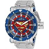 Limited Edition Invicta DC Comics Model 26823 Superman Silver Mens Watch