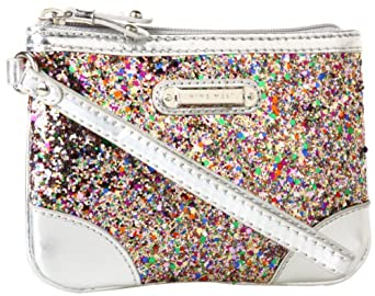 Nine West Instaglam SM Wristlet,Pink Multi/Bright Silver,One Size