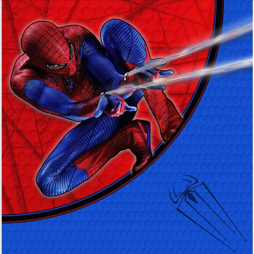 The Amazing Spider-Man 3D Lunch Napkins 16 ct - 1