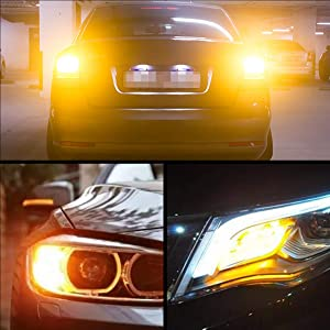 Amber LED//Amber Lens United Pacific 36988 13 LED M1 Millennium Clearance//Marker Light 1 Pack GLO Light
