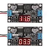 DROK® LM2596 Voltage Switching Regulator DC Converter Adjustable DC 5-40V to 1.25-37V Buck Converte