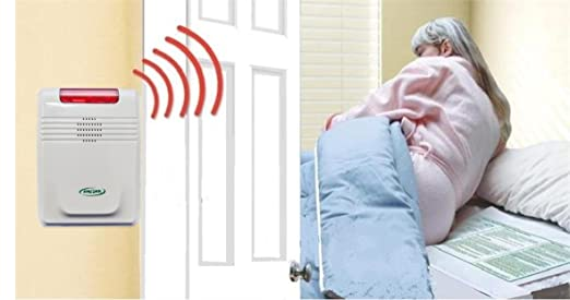 Cordless Bed Alarm System - No Alarm in Patient Room!