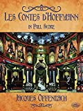 Les Contes d'Hoffmann in Full Score (Dover Music Scores)