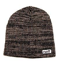 Neff Slashy Beanie - black/charcoal
