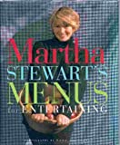 Martha Stewart's Menus For Entertaining (0091790093) by MARTHA STEWART