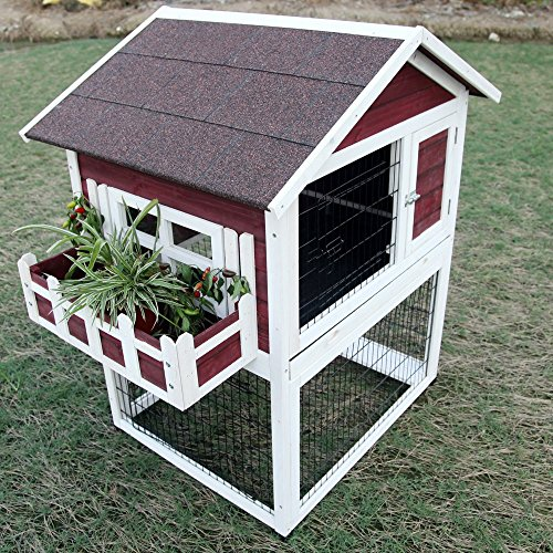 Large outdoor rabbit hutches for Outdoor bunny hutch