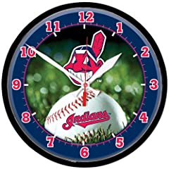 Cleveland Indians Wall Clock by WinCraft