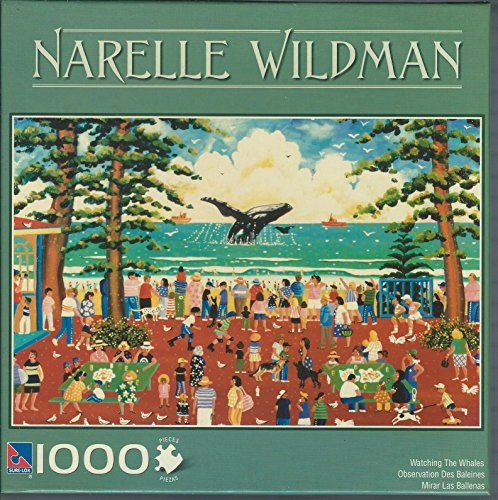 Narelle Wildman 1000 Piece Jigsaw Puzzle: Watching the Whales by Sure-Lox