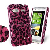 Femeto Leopard Fur Back Cover Case for HTC Radar HTC Radar Case Cover