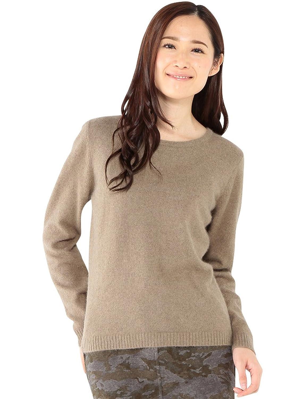 Amazon.co.jp: (エーシーデザインバイアルファキュービック)A/C DESIGN BY ALPHA CUBIC ラウンドヘムニットプルオーバー: 服&ファッション小物通販
