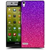 Head Case Designs Ombre Glitter Trend Mix Hard Back Case Cover for Huawei Ascend P6