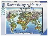 2000ピース ジグソーパズル World Map (98 x 75 cm)