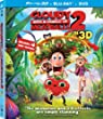Cloudy with a Chance of Meatballs 2 (Three-Disc Combo: Blu-ray 3D + Blu-ray + DVD + UltraViolet Digital Copy) from Sony Pictures Home Entertainment