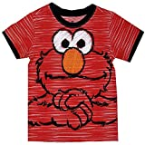 Sesame Street Elmo Little Boys Striped T-Shirt