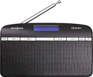 Insignia HD Radio Tabletop Radio Black NS-HDRAD