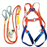 TUXI Aerial Work Safety Belt Fall Protection Safety Rope Electrician Safety Harness, Universal Fit