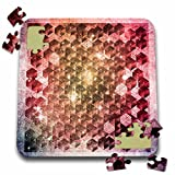 Ancello Different Pattern Abstract Cubes 10x10 Inch Puzzle (Pzl 201654 2)