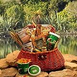Fishing Gift Basket: The Fishermans Creel -Large | Gourmet Gift Basket for Fisherman