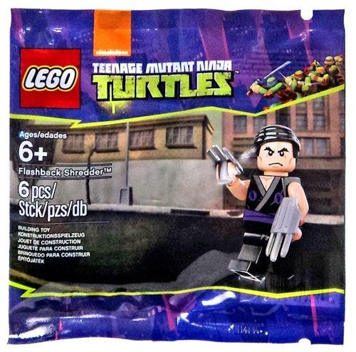 LEGO Teenage Mutant Ninja Turtles Flashback Shredder, 6076195, 6 Piece Polybag