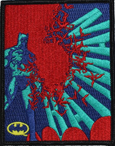 Batman DC Comics with Bats Patch