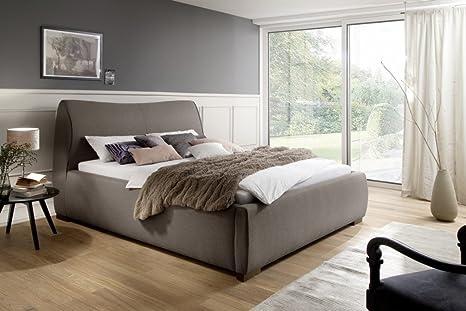 sette notti Bett 180 x 200 cm Bett in Stoff beige-braun, Art Nr. Coruna 1119-10-5000
