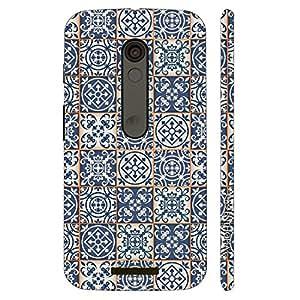 Enthopia Designer Hardshell Case Modern Tiles Back Cover for Motorola Moto X3