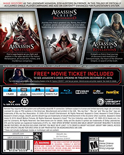 Assassin's Creed The Ezio Collection (輸入版:北米) - PS4 UbiSoft(World)