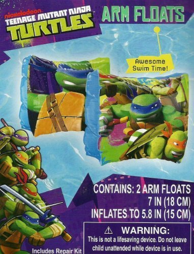 TMNT: Teenage Mutant Ninja Turtle Set of 2 Swimming Pool Arm Floats