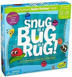 Peaceable Kingdom / Snug as a Bug in a Rug Award Winning Preschool Skills Builder Game