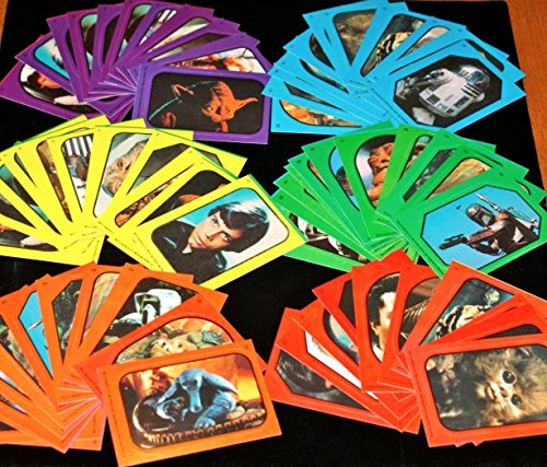 Return Of Jedi Star Wars Sticker Set