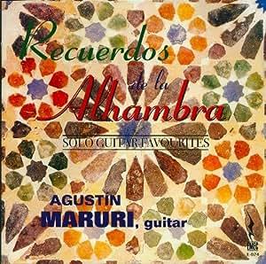 Solo guitar favourites/Recuerdos de la Alhambra by Agustin Maruri