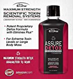 Total EclipseTM Detox 32oz Tropical Liquid - Maximum Strength Scientific Toxin Removal System for High Toxin Levels or Large Body Mass