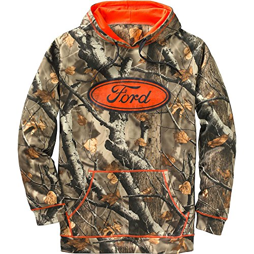 Legendary Whitetails Mens Big Game Mudder Hoodie Ford Medium (Ford Hoody compare prices)