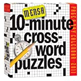 img - for Mensa 10-Minute Crossword Puzzles Calendar 2011 book / textbook / text book