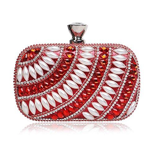 frau-mode-perle-striped-handtasche-bankett-beutel-155-95-55-cm-red