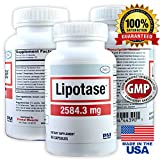 LIPOTASE ★ STRONGEST Fat Cutting Supplement ★ 4 Week Cycle ★ Made in the USA - NO PRESCRIPTION REQUIRED ★ 100% Natural & LEGAL - Satisfaction GUARANTEED or Your Money Back!