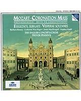 Mozart : Messe du Couronnement / Exsultate, jubilate / Vesperae solennes