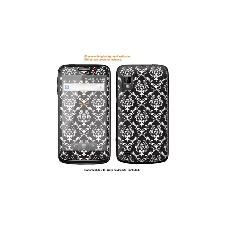 Protective Decal Skin Sticker for ZTE Warp  Boost Mobile version  case cover ZTEwarp 332